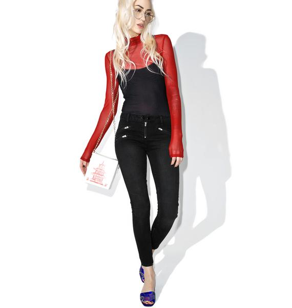 Jax Moto Skinny Jeans