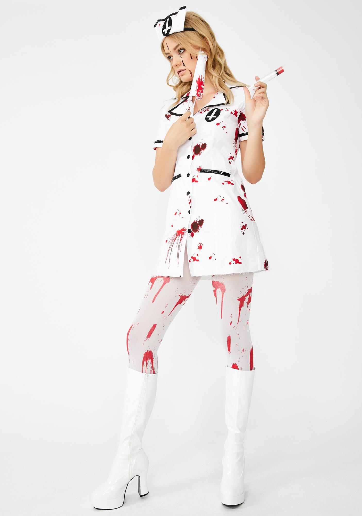 Dolls Kill Emergency Room Costume Set