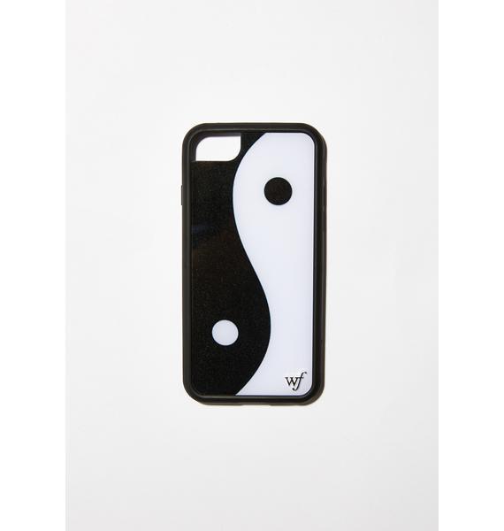 super popular 815fe 1ce70 Yin Yang iPhone Case