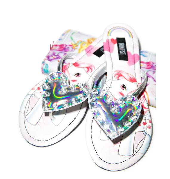 Iron Fist My Little Pony Sandals