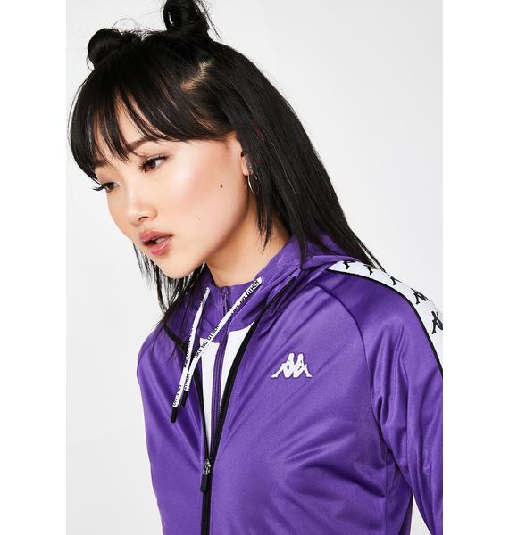 Kappa Grape 222 Banda Wanniston Slim Jacket