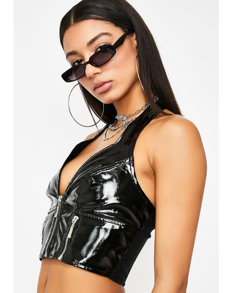 Domination Halter Top