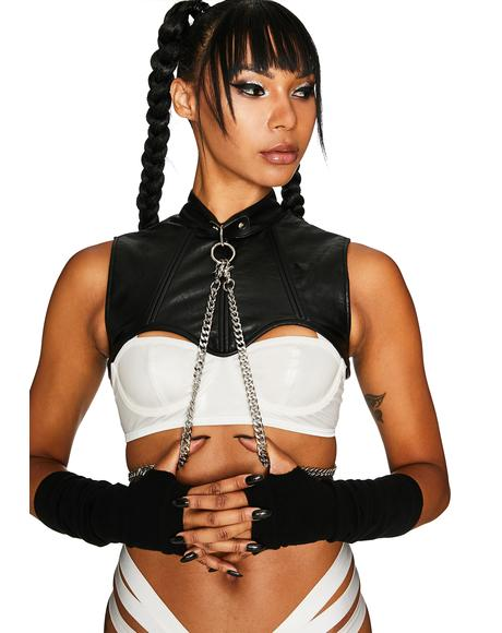 Club Rules Chain Harness Top