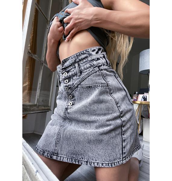 Madison the Label Ryder Denim Skirt