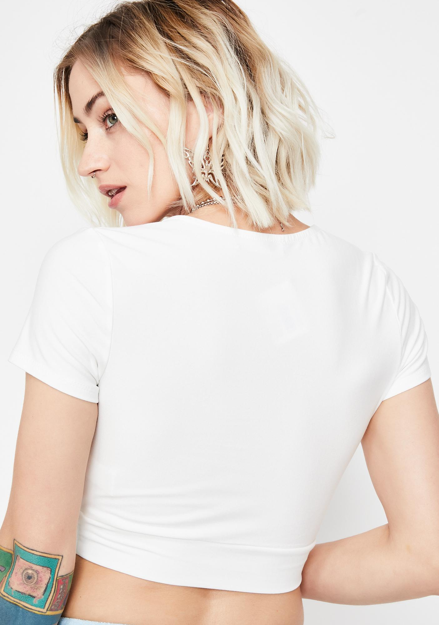 Pure Nuclear Emotions Crop Top