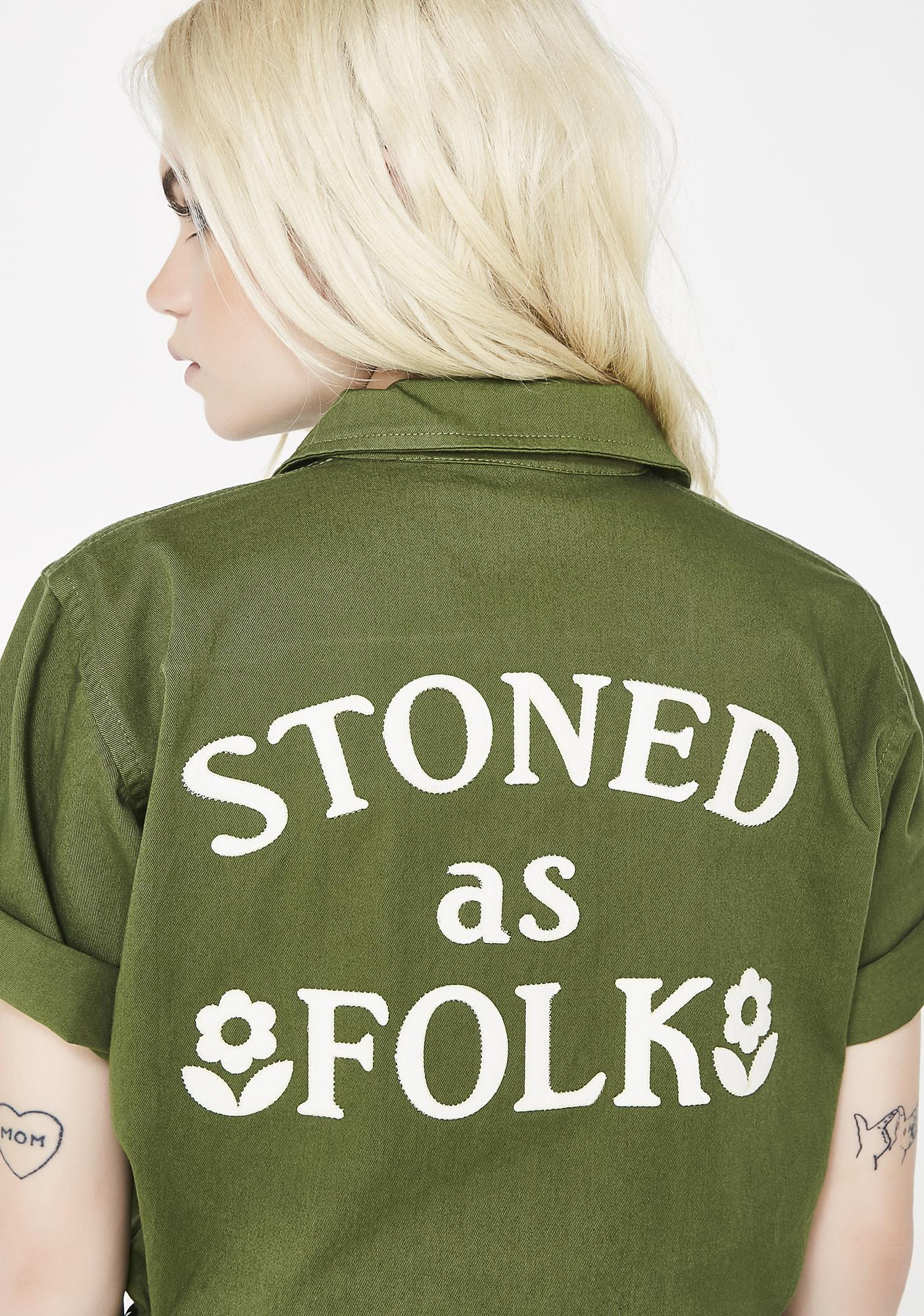 Sugarhigh + Lovestoned Stoned As Folk Romper