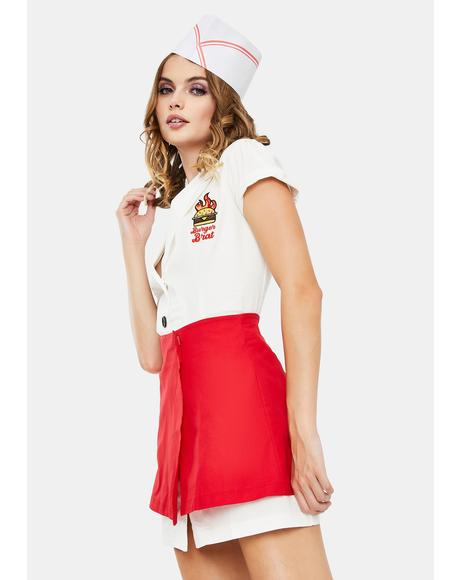 At Your Service Waitress Costume