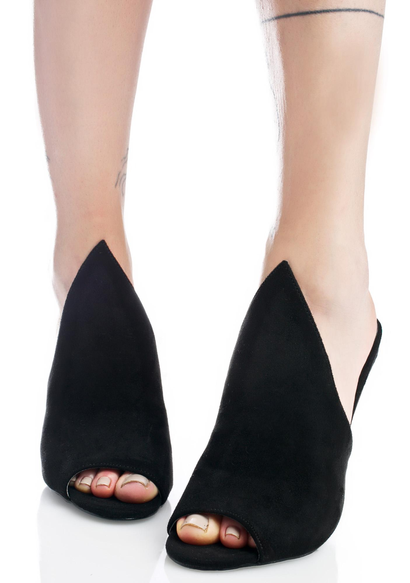 Cult Heeled Mules