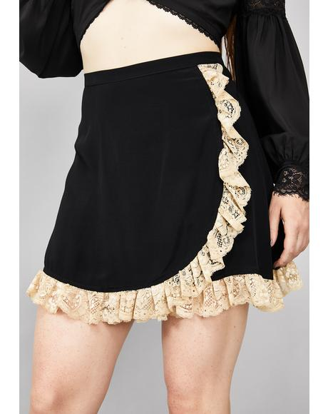 Soulless Devotion Lace Skirt