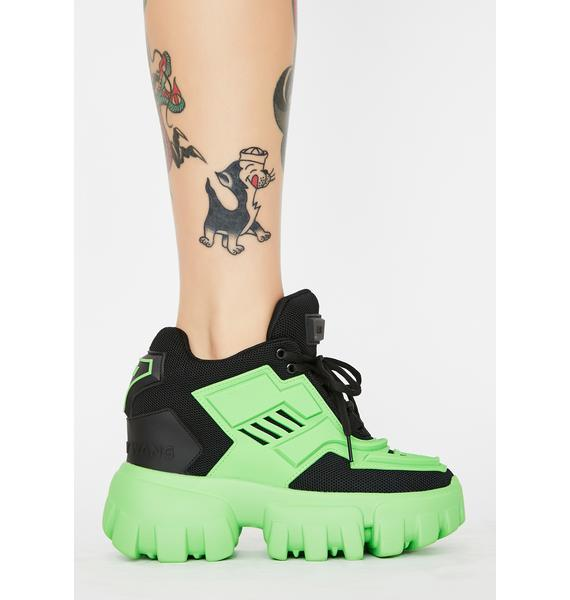Anthony Wang Psycho Candy Platform Sneakers