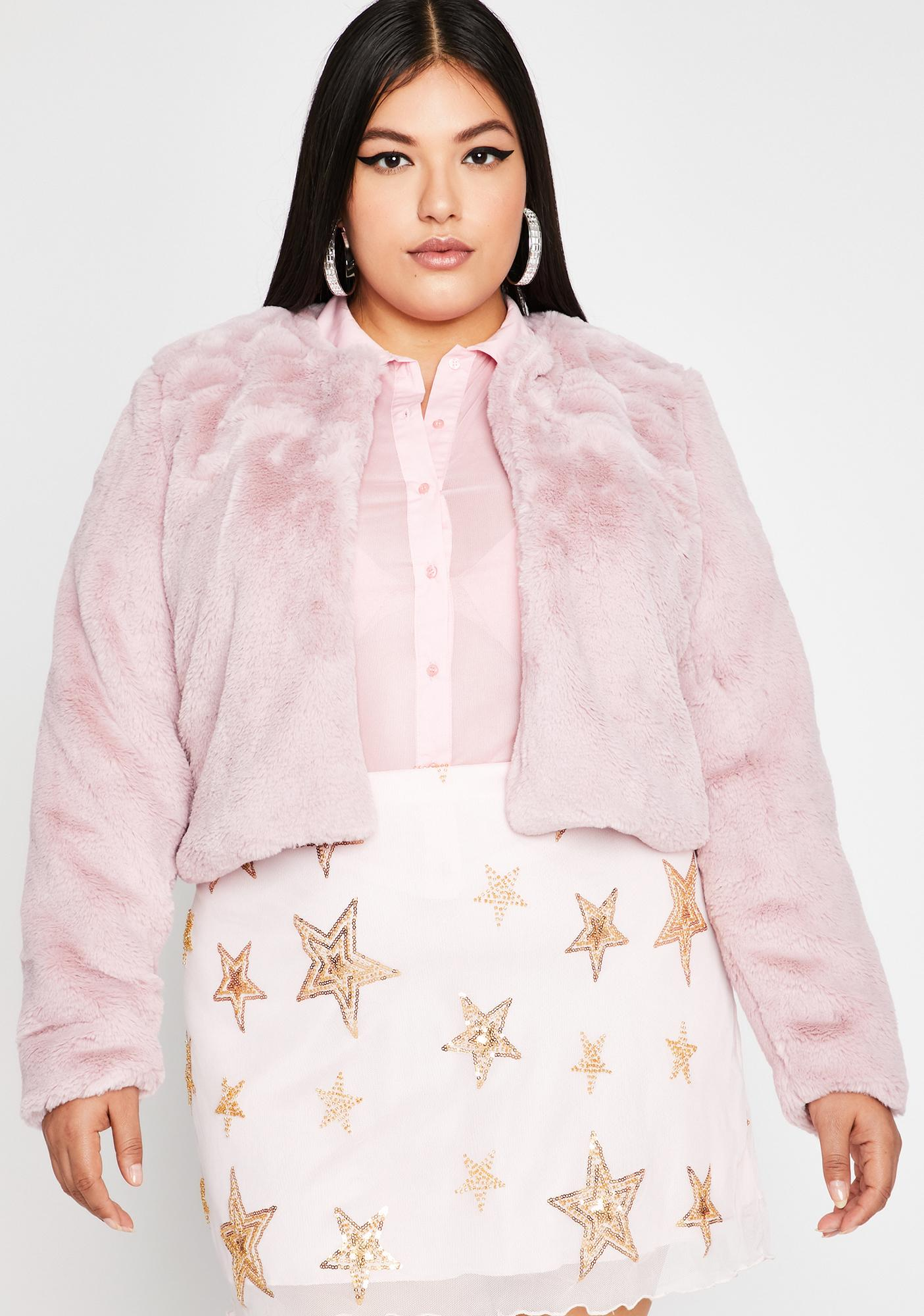 Run It Up Faux Fur Jacket by