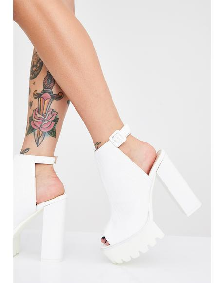 Jada Cleated Platform Booties