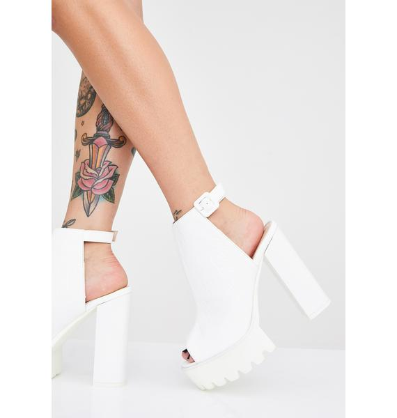 Public Desire Jada Cleated Platform Booties