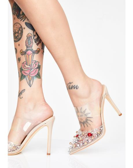 Whistler Rhinestone Heels