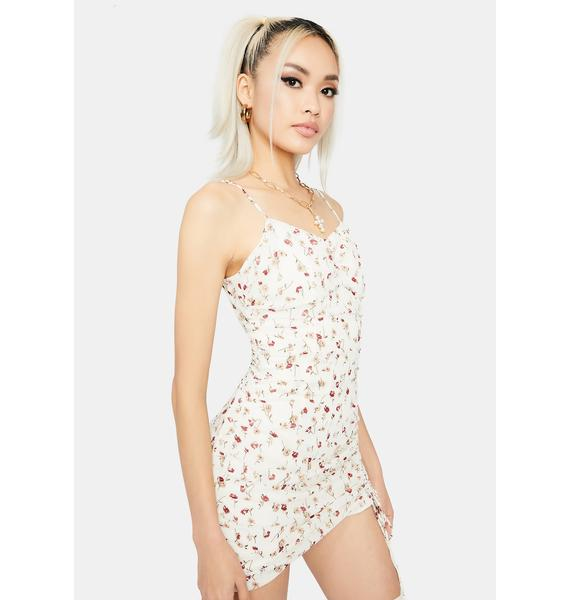 From The Top Floral Mini Dress