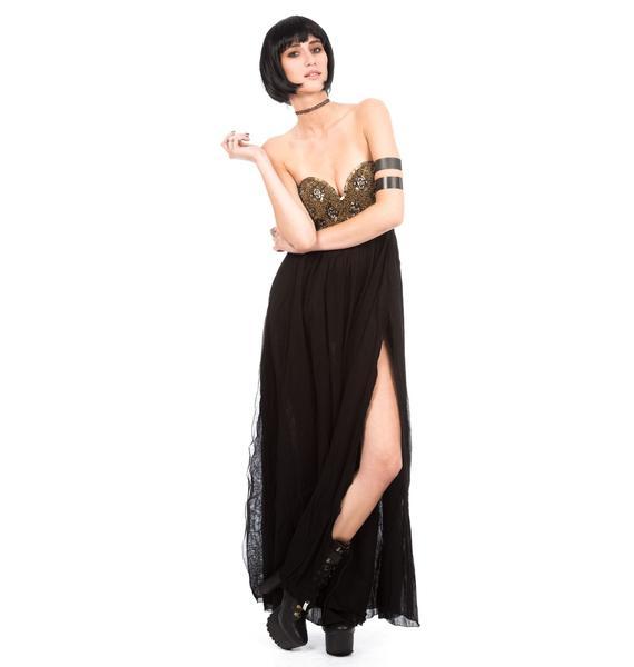 One Teaspoon Goldrush Maxi Dress