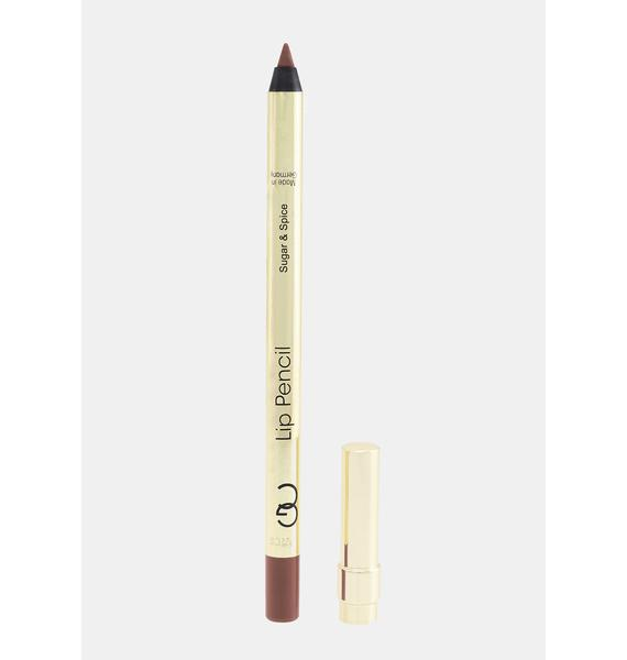 Gerard Cosmetics Sugar And Spice Lip Pencil