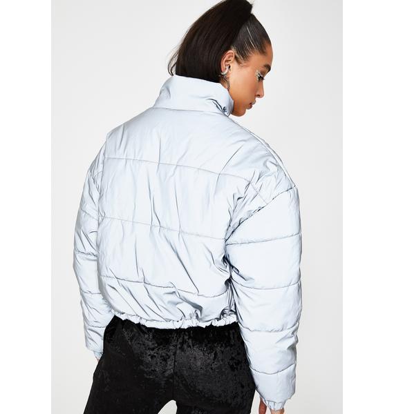 Poster Grl Future Finesse Reflective Jacket