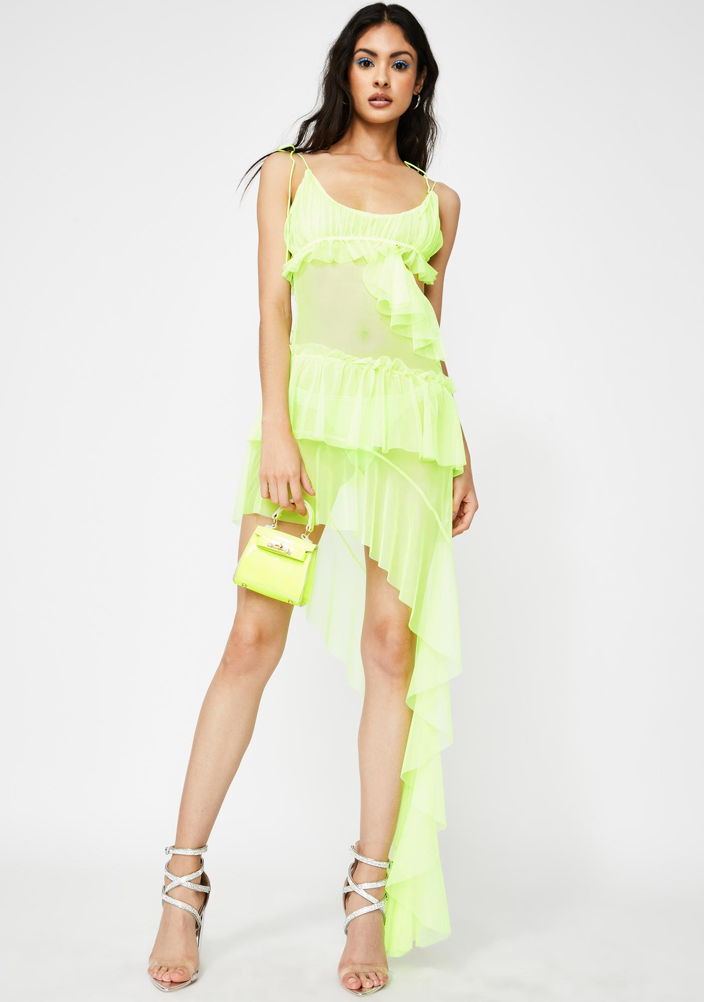 Kiki Riki Atomic Fantasy Affair Asymmetrical Dress