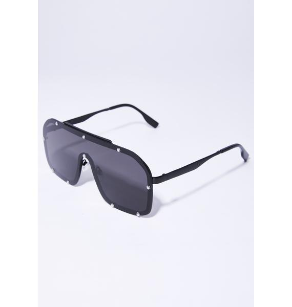 Trinity Nearly Shield Sunglasses