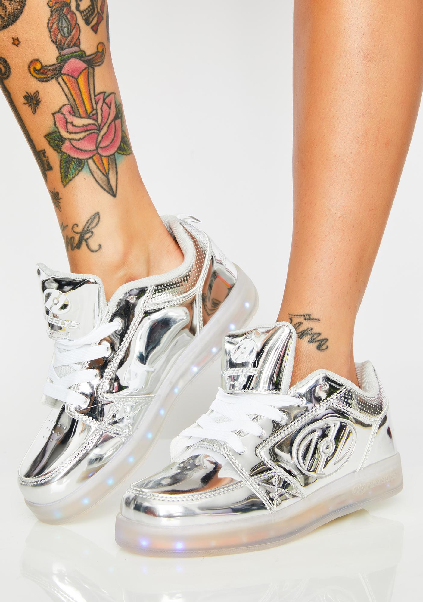 Heelys Premium 1 Lo Chrome Sneakers
