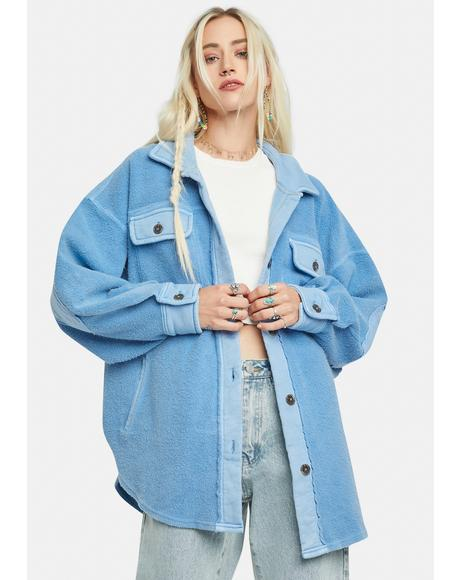 Rain Song Ruby Oversized Jacket