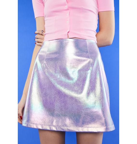 dELiA*s by Dolls Kill Vision Of Love Mini Skirt