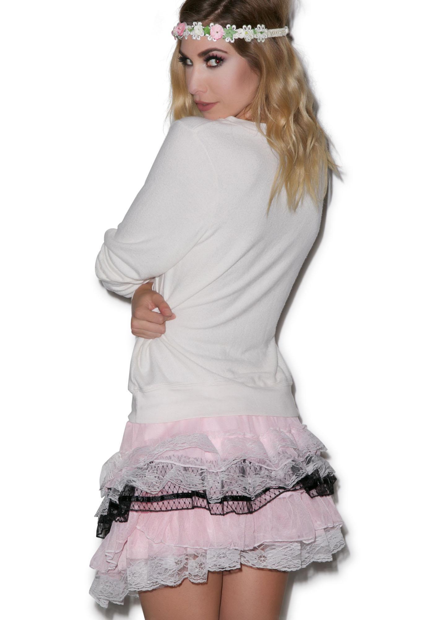 Vexed Ruffle Skirt