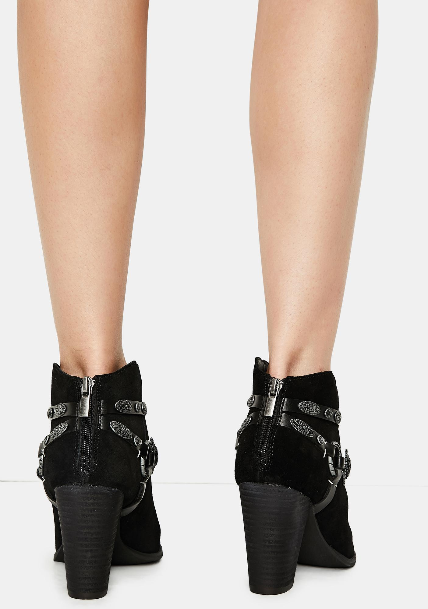 Volatile Shoes Tulsa Ankle Boots