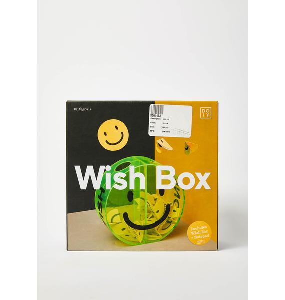 Smiley Face Wish Box