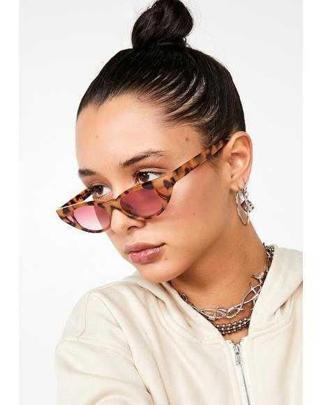 Fierce Love Tease Heart Sunglasses