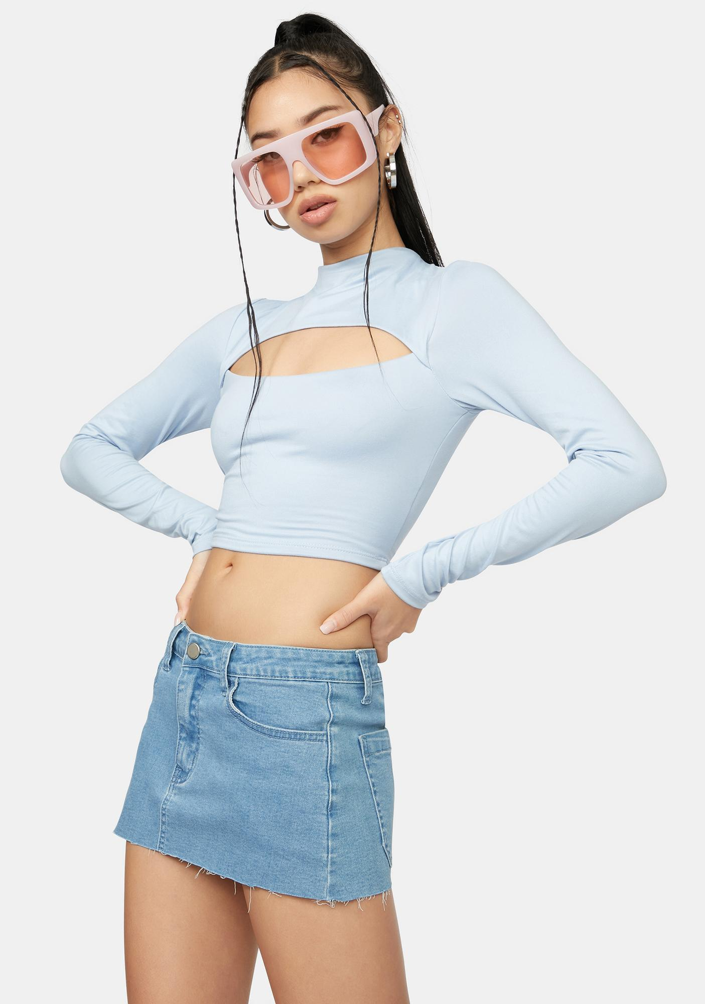 Made For This Cut Out Crop Top