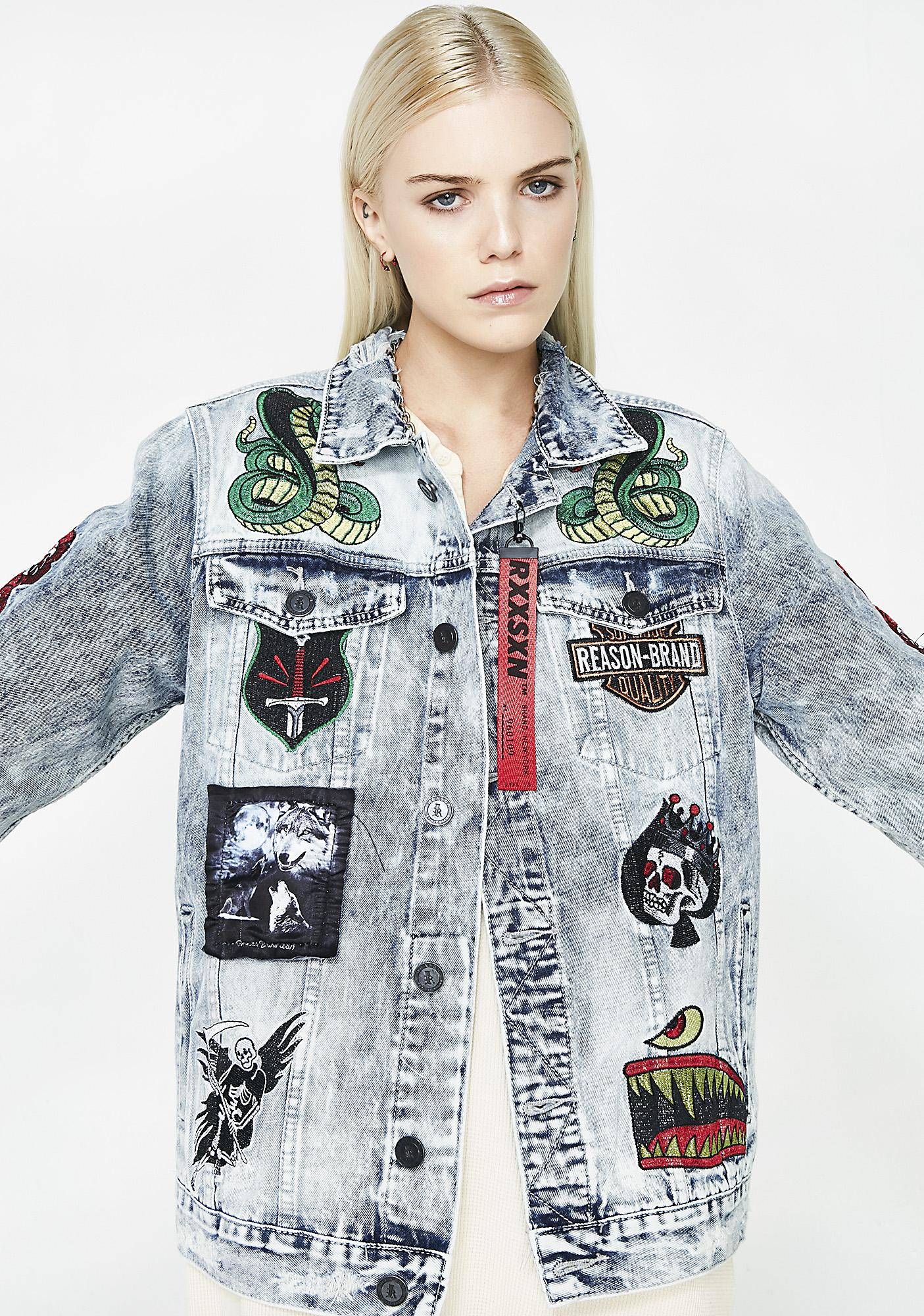 Rock Tour Denim Jacket by Reason