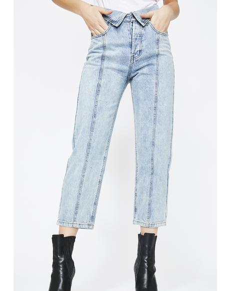 Number One Requester Mom Jeans
