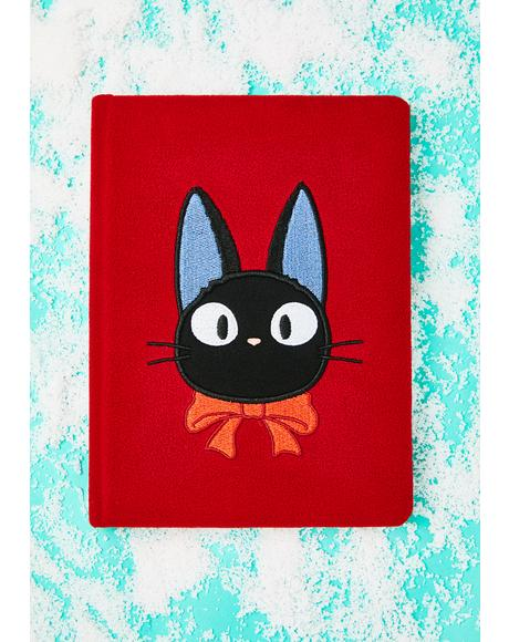 Kiki's Delivery Service Jiji Plush Journal