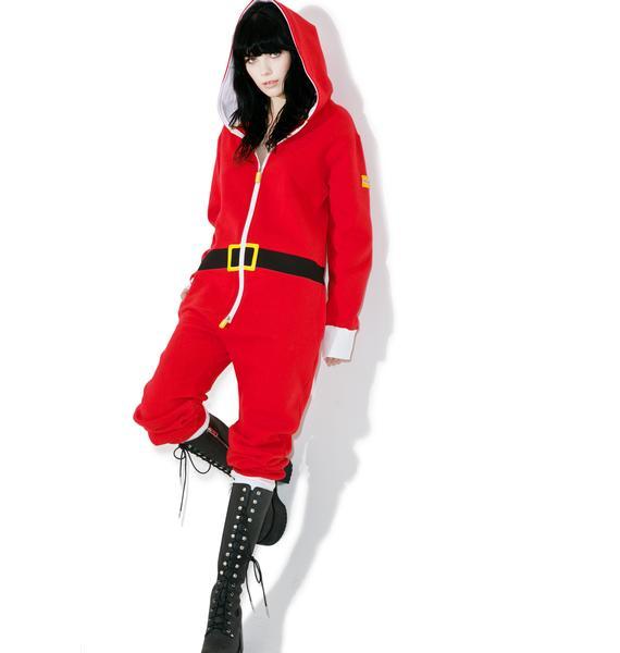 Tipsy Elves Santa Jumpsuit