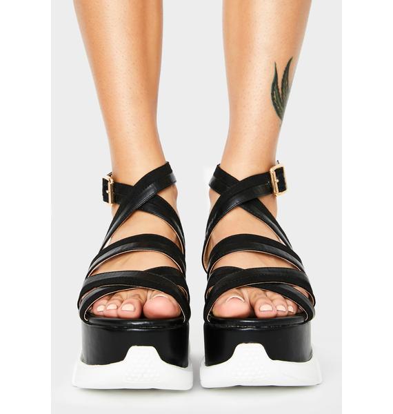 Wantin' More Platform Sandals