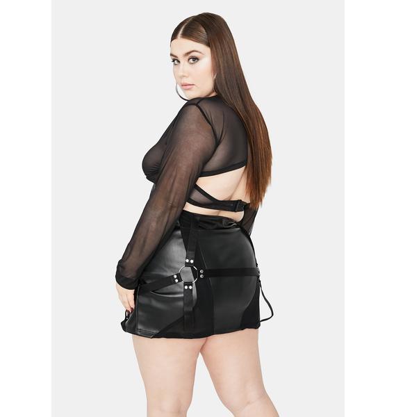 Poster Grl Got Naughty Habits Mini Skirt