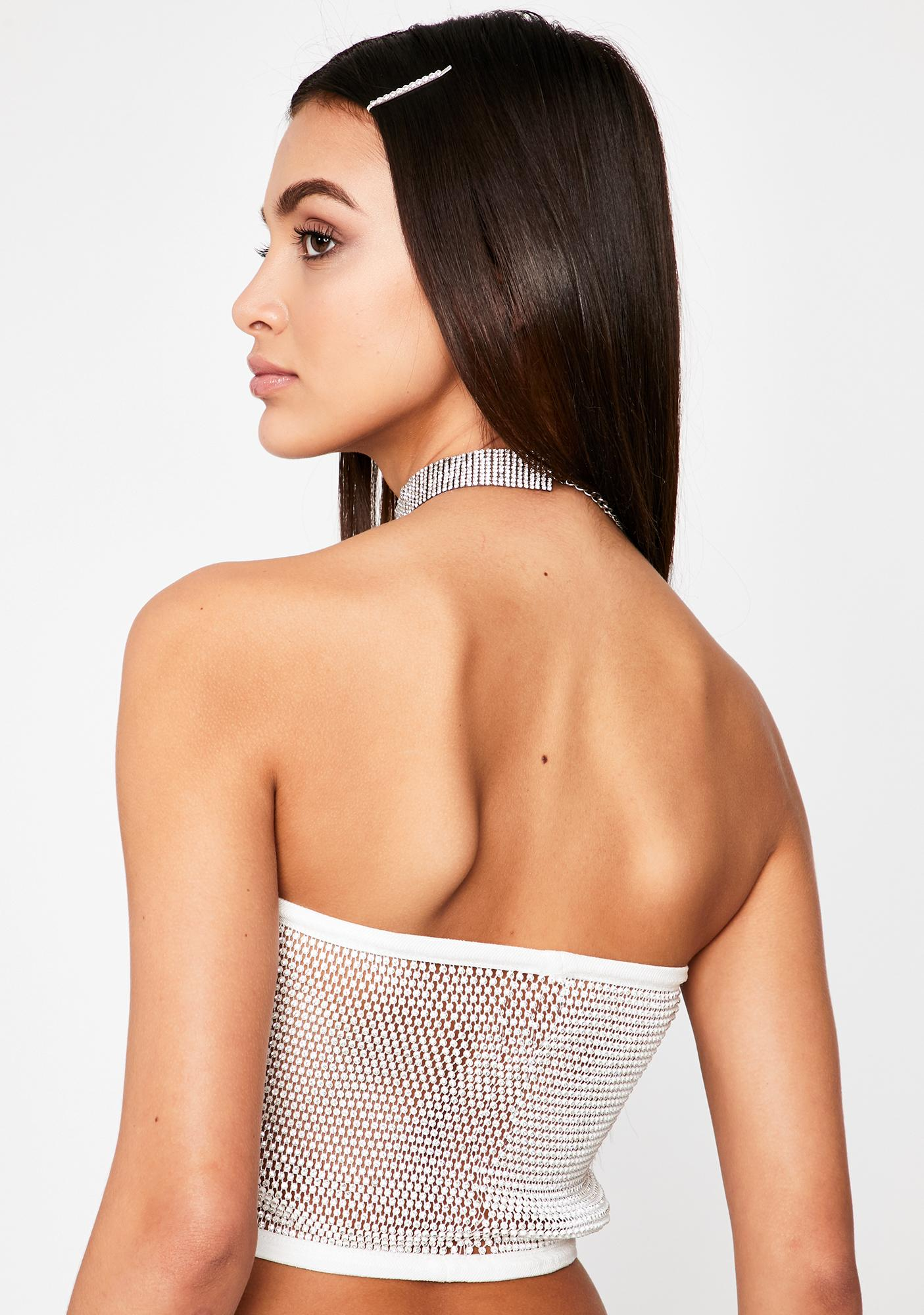 Pure Southern Royalty Bandeau Top