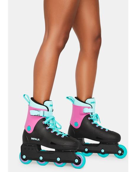 Black Berry Lightspeed Inline Skate