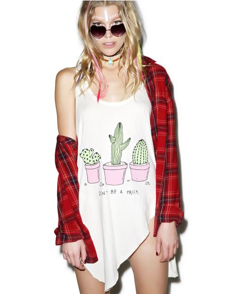 Don�t Be A Prick Ripped Tank Top