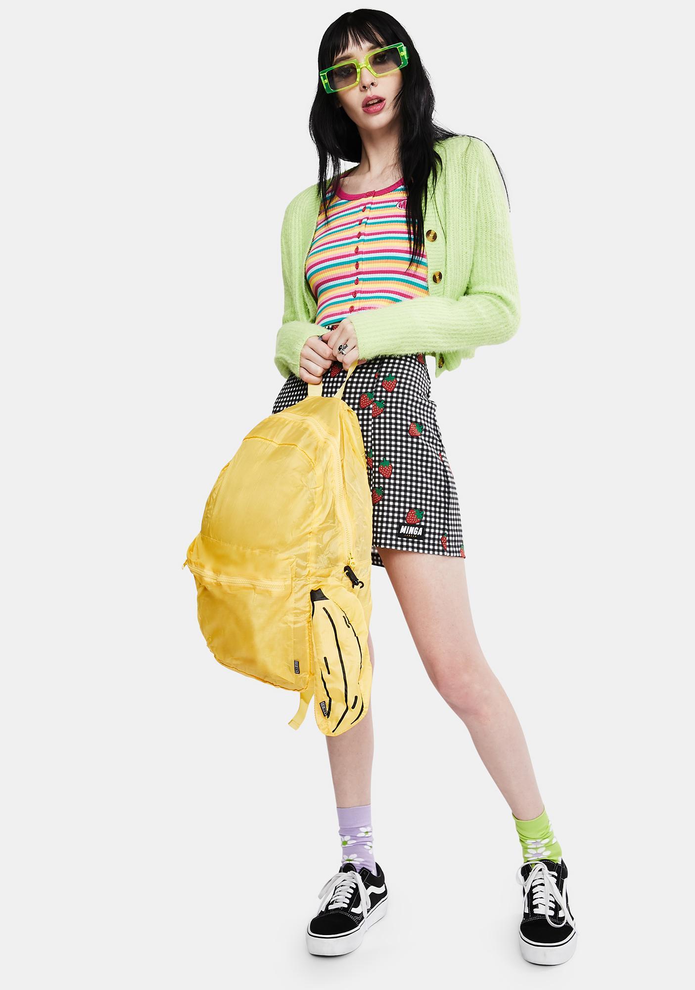 Gone Bananas Foldable Backpack