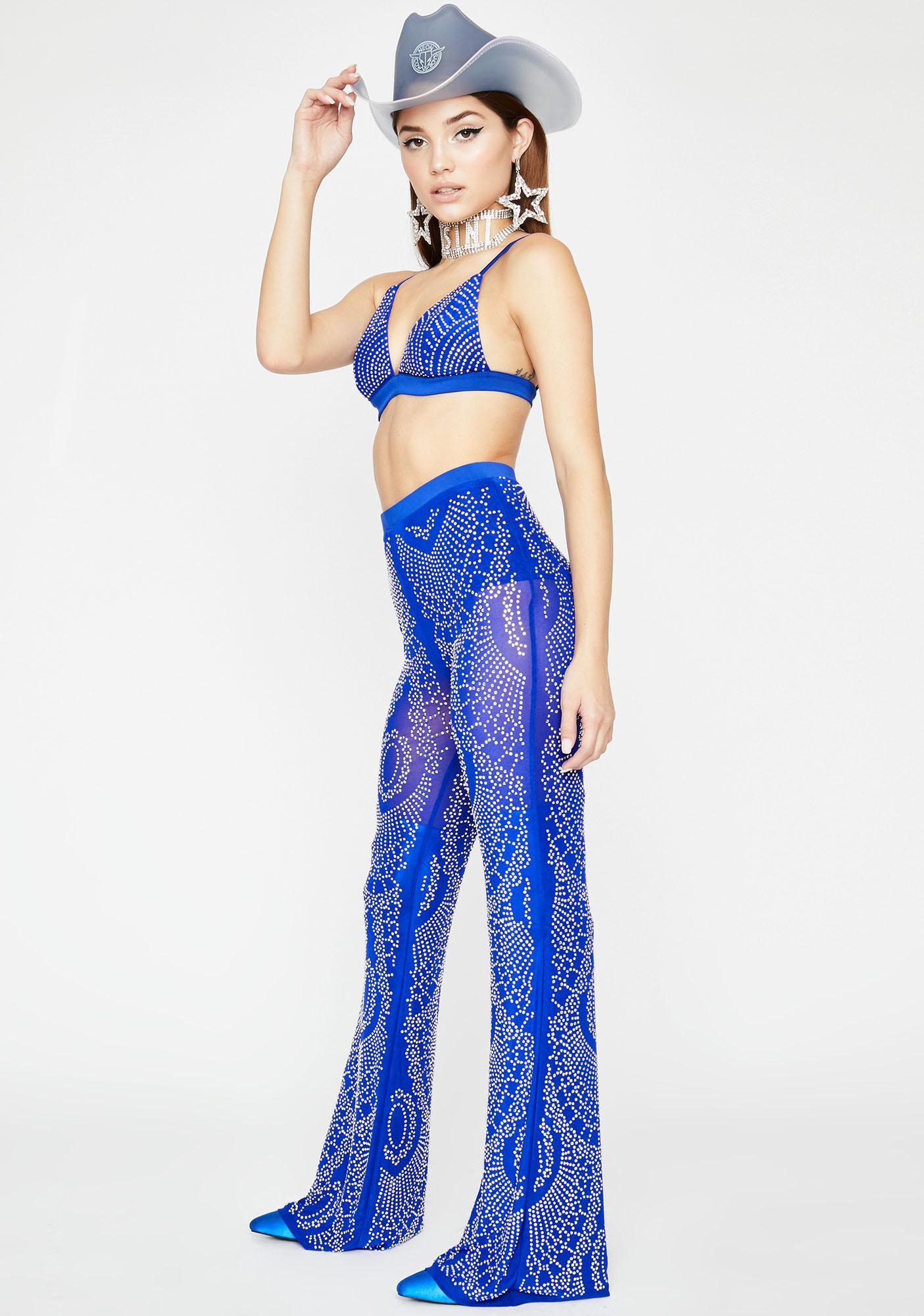 Sapphire Gypsy Rhinestone Set