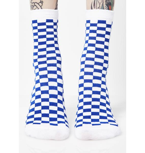 Royal Check U Out Socks