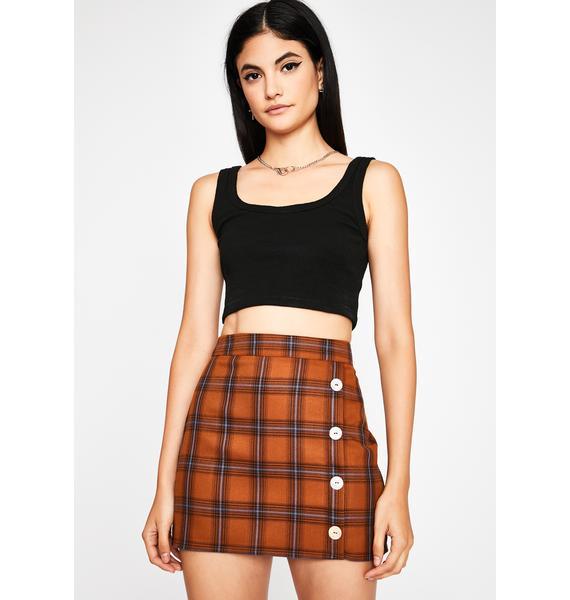 All Due Respect Mini Skirt