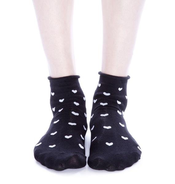 Plush 3-Pack Rolled Ankle Socks