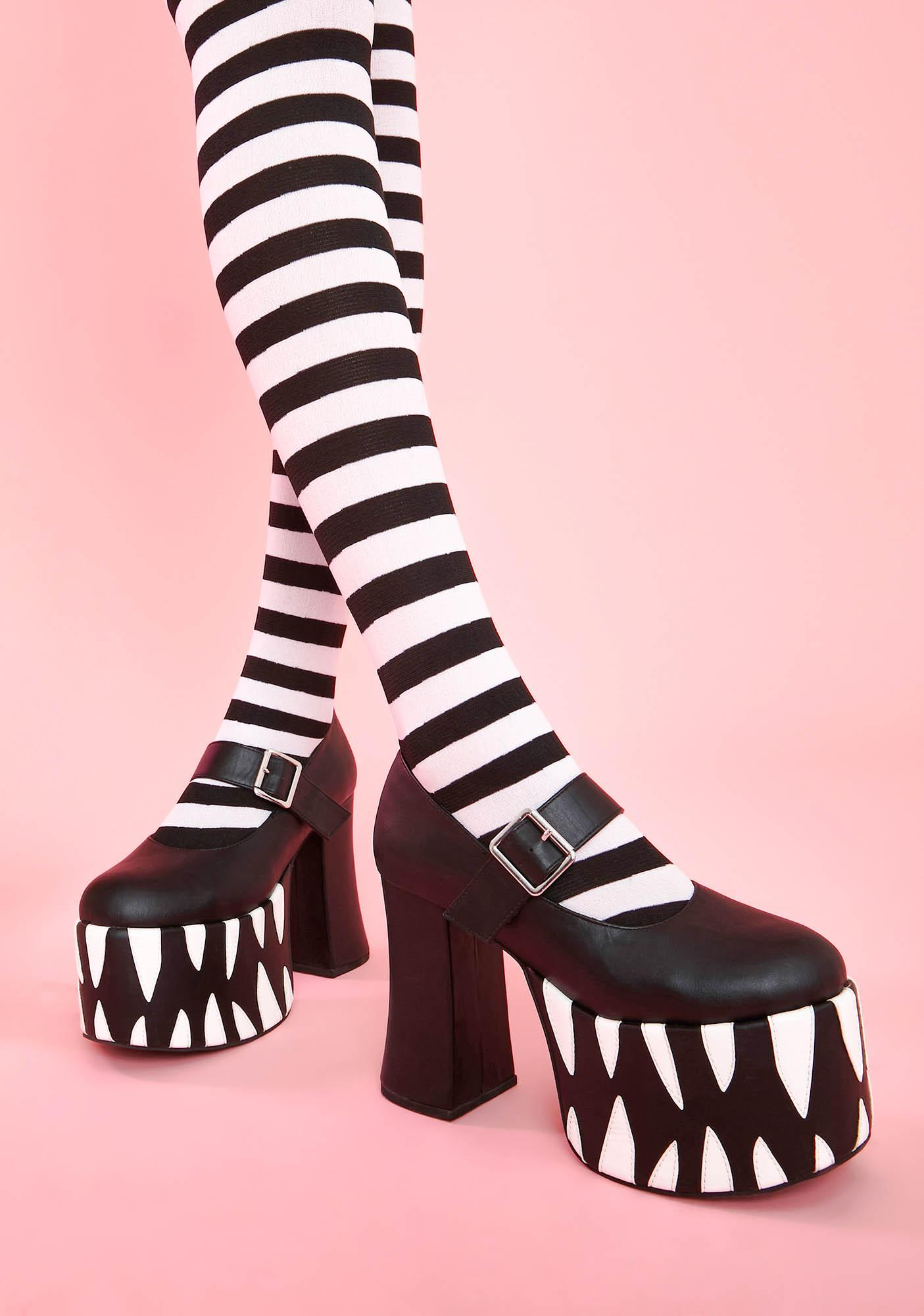 Sugar Thrillz Bedtime Monster Mary Janes