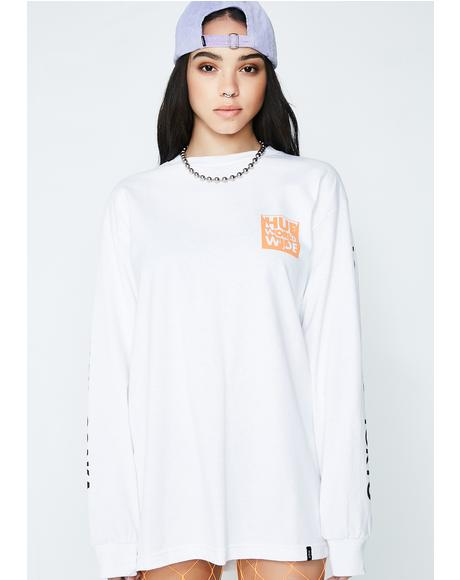 International Block Long Sleeve Tee