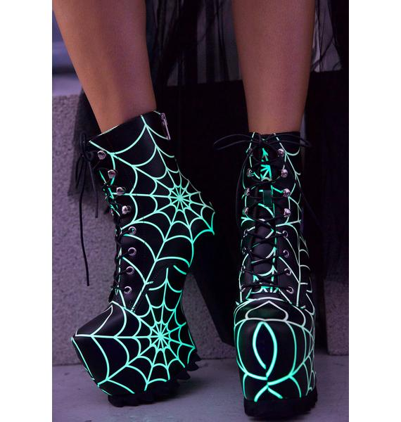Current Mood Terror Glow Boots