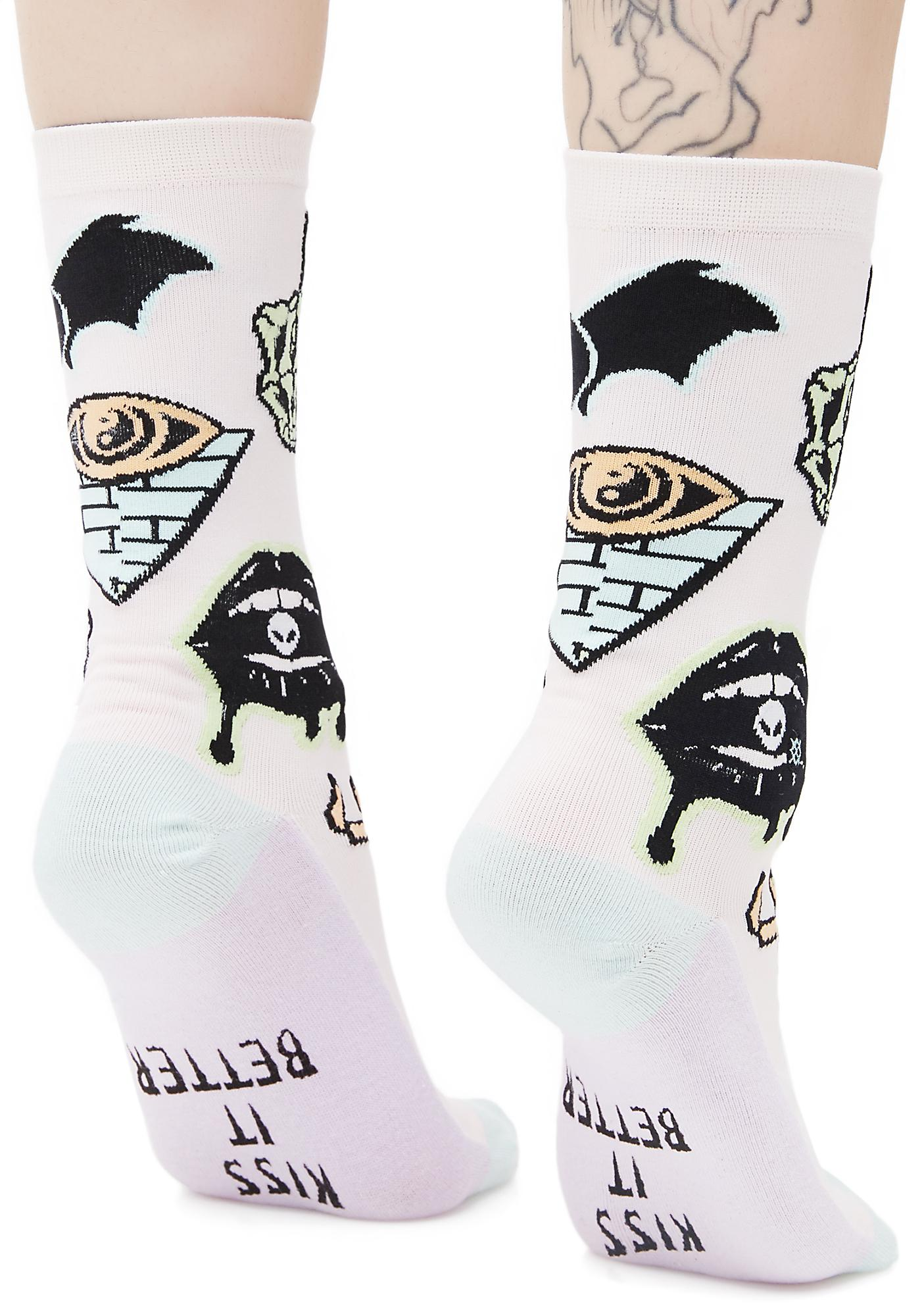 Stance Punk N' Patch Socks
